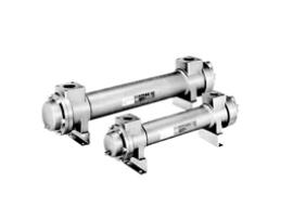 SMC浮动管板式油冷却器 水冷式/铜粒型 HOW